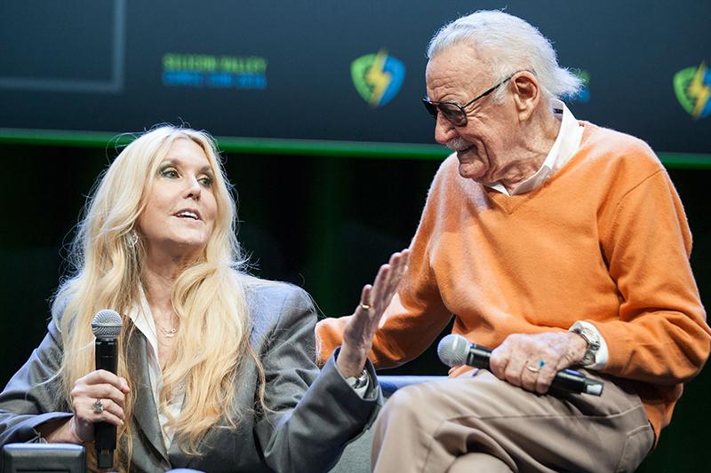 Stan Lee y Joan Celia Lee | Crédito: Getty Images